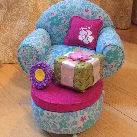 Superb American Girl Kanani Lounge Chair Set Unemploymentrelief Wooden Chair Designs For Living Room Unemploymentrelieforg